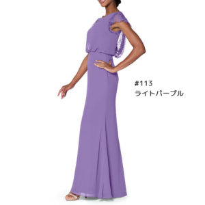 ch1067 ブライズメイド ロングドレス