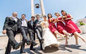 ブライズメイド 結婚式 ヒルトン東京 お台場(旧ホテル日航東京) 2012年5月