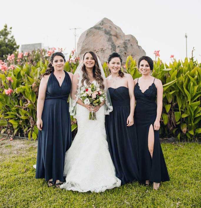 ブライズメイド 結婚式 メキシコ