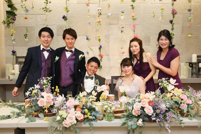 ブライズメイド 結婚式 表参道